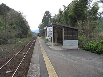 Kabutoyama Station - Kōyama Station, April 2012