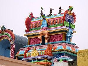 Appakkudathaan Perumal Temple - Shrines of Ranganathar and Thayar