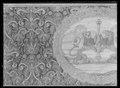 Kristina kröningshimlen gjord på 1640-talet i Paris av siden, linne, pärlor, guld och silver - Livrustkammaren - 70481.tif
