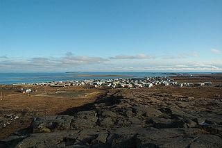 Kugluktuk Hamlet in Nunavut, Canada