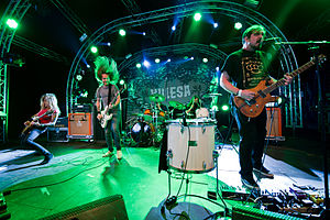 Kylesa - Kylesa performing at Roskilde Festival 2011