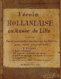 L'Ecole Hollandaise au musée de Lille - Première de couverture.jpg