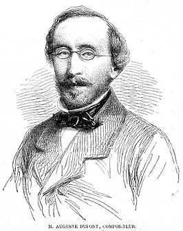 Auguste Dupont in circa 1862