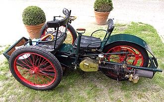 Léon Bollée Automobiles - Image: Léon Bollée voiturette Tri Car