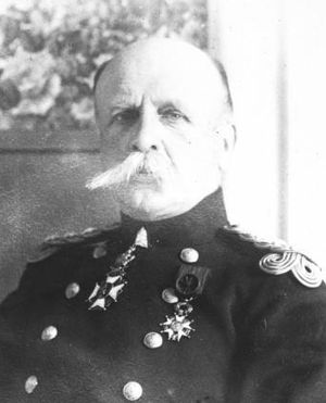Inter-Allied Victory Medal (Belgium) - Lieutenant General Baron Léon de Witte de Haelen, a recipient of the Inter-Allied Victory Medal
