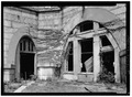 LOOKING AT NORTHWEST CORNER OF NORTHWEST BASTION - Fort Adams, Newport Neck, Newport, Newport County, RI HABS RI,3-NEWP,54-80.tif