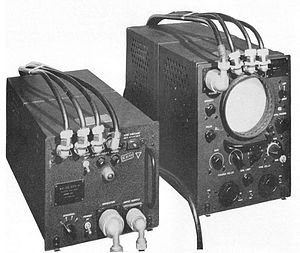 LORAN - The AN/APN-4 was an airborne LORAN receiver used into the 1960s. It was built in two parts to match the UK's Gee system, and could be swapped with Gee in a few minutes.