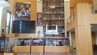 LSU Football Operations Center - Image: LSU Football Operations Center Atrium