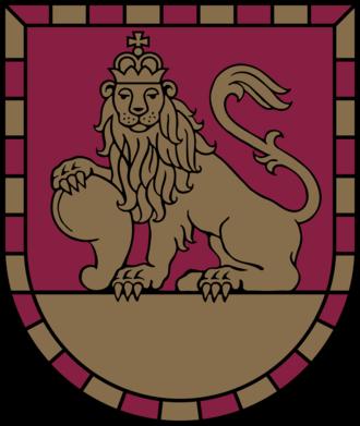 Rundāle Municipality - Image: LVA Rundāles novads COA