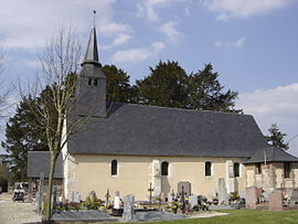 The church of Notre-Dame in La Haye-de-Routot