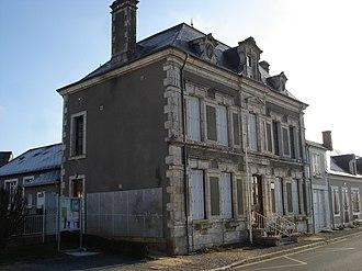 La Berthenoux - The town hall in La Berthenoux