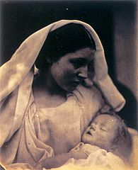 La Madonna Riposata Resting in hope, by Julia Margaret Cameron.jpg
