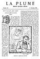 La Plume Salon des cents 1895 Gachons.jpg