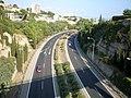 La autopista de Palmanova vista desde el puente elevado - panoramio.jpg