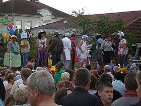 le traditionnel défilé