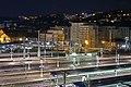 La gare de Perrache la nuit (Lyon) (24766933387).jpg