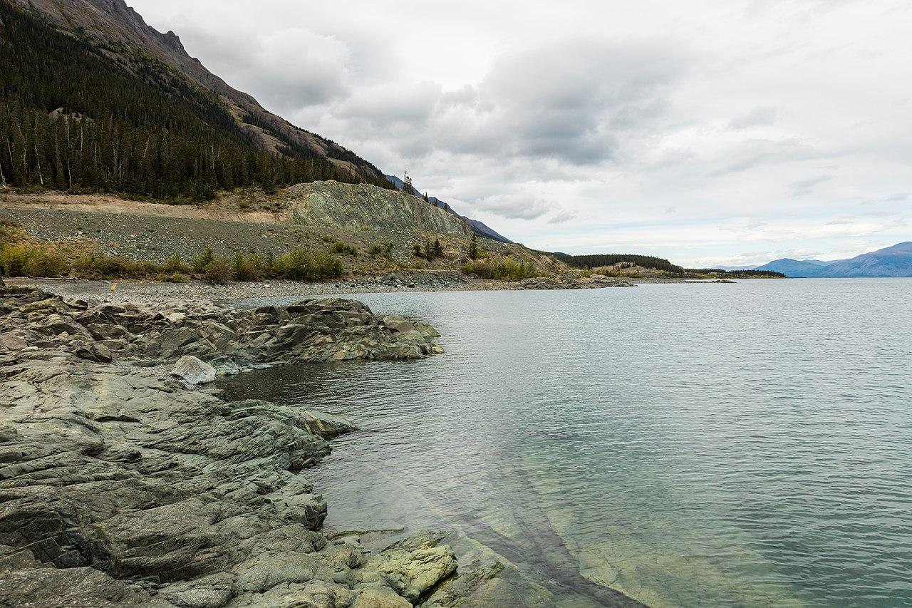 File lago kluane destruction bay yuk n canad 2017 08 for Lago n