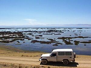 Junín Region - Partial view of Lake Junin