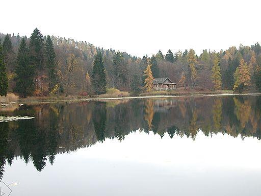 Lago di Cei (autunno)