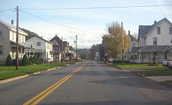 The village of Lairdsville is the main population center in Franklin Township