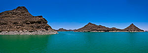 Lake Nasser - Image: Lake nasser