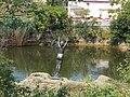 Lake Bánya. Girl statue. - Donát St., Öreghegy, Székesfehérvár, Fejér county, Hungary.JPG