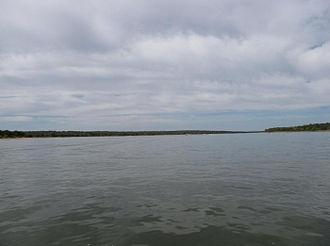 Lake Thunderbird - Lake Thunderbird from the water surface.