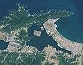 Lake nakaumi landsat.jpg