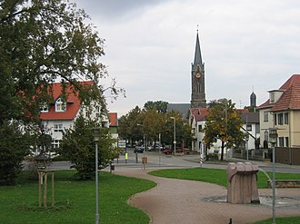 Lambsheim - Image: Lambsheim Ortsmitte