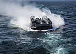 Landing Craft Air Cushioned (LCAC) during Exercise Bold Alligator 2014 141031-M-UY829-019.jpg