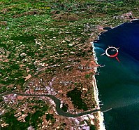 Landsat image of Northern Basque Country, France, March 2008.jpg