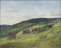 Landscape, Eggedal (Harriet Backer) - Nationalmuseum - 21698.tif
