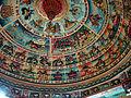 Lascar Colourful dome at a Hindu temple (Mumbai) (4558203183).jpg