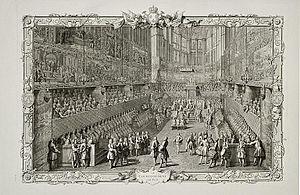 Nicolas-Henri Tardieu - Image: Le Couronnement du Roi by Tardieu
