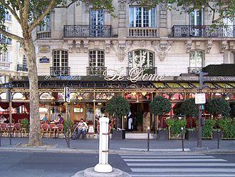 Montparnasse - Le Dôme.