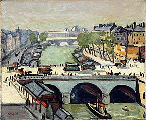 Le pont Saint-Michel (LACMA)