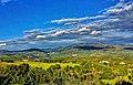 Le nuvole dipingono ombre sulla montagna del Pratomagno - The clouds paint shadows on the Pratomagno mountain.jpg