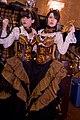Leather Clockwork corset twin ladies at Steampunk Worlds Fair.jpg