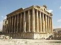 Lebanon, Baalbek, Temple of Bacchus 2.jpg