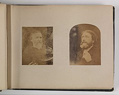 Left Robert Browning, 1865. Right Henry Halford Vaughan, 1864 -70 (7643237908).jpg