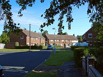 Anlaby - Image: Legard Drive, Anlaby geograph.org.uk 444669