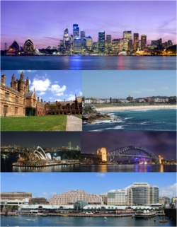 how to get to bondi beach from darling harbor