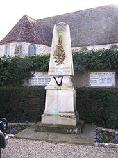 Photographie du monument aux morts.