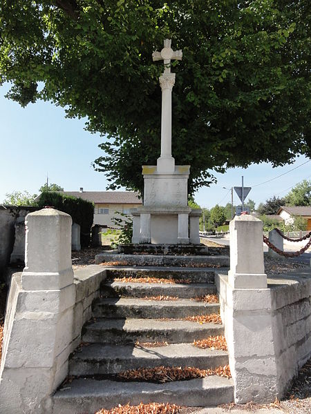 Les Paroches (Meuse) croix de chemin