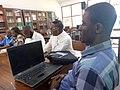 Les libraires en réunion avec les Wikipédiens de Kinshasa.jpg