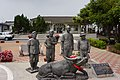 Let It Be statue in front of TRA Houbi Station 20140320.jpg
