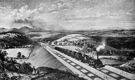 The Lickey Incline about 1845