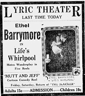 <i>Lifes Whirlpool</i> 1917 film by Lionel Barrymore