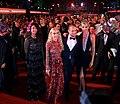 Life Ball 2014 red carpet 108 Afef Jnifen Franca Sozzani Gery Keszler Tereza Maxová.jpg