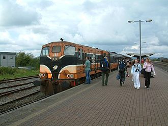 Limerick Junction railway station - A train at Limerick Junction